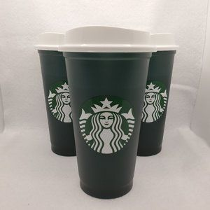 3 Starbucks Color Changing Cups